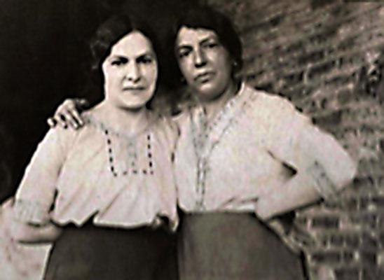 Achille Capaldi's sisters - Filomena and Assunta Maria Capaldi