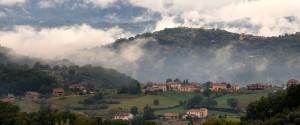 View of Val di Comino from Casa Bella Vista